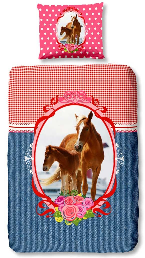 Dagaanbieding - Goodmorning Dekbedovertrek Horse dagelijkse koopjes