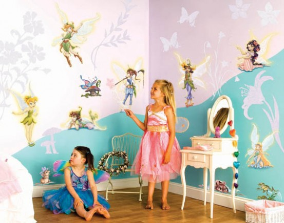 Muurstickers Room Makeover Fairies
