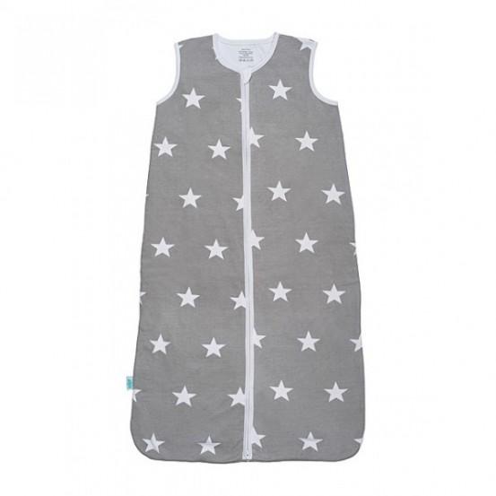 Jollein Slaapzak zomer 110cm jersey Little star grey