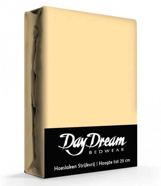 Day Dream Hoeslaken Katoen Geel