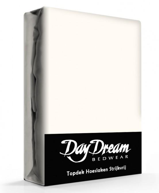 Day Dream Topper Hoeslakens Katoen Ecru
