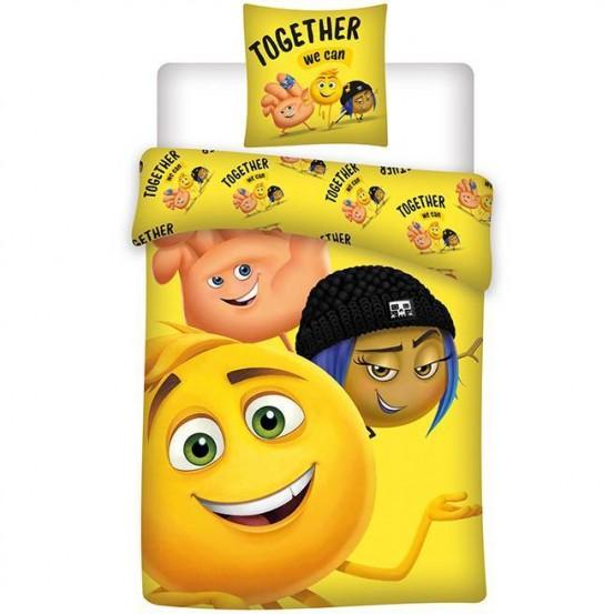 Emoji Dekbedovertrek Together Flanel
