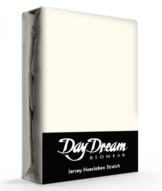 Day Dream Jersey Hoeslaken Ecru