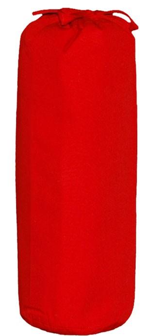 Taftan Hoeslakens Uni Rood