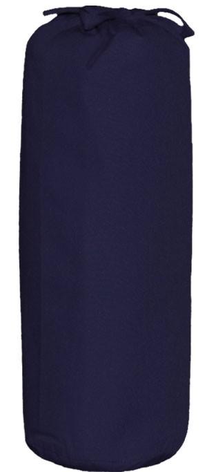 Taftan Hoeslakens Uni Donker blauw