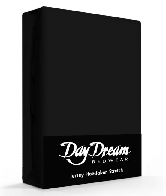 Day Dream Jersey Hoeslaken Zwart