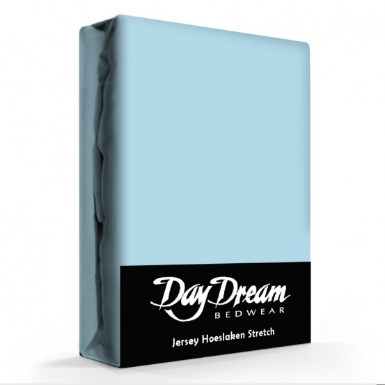 Day Dream Jersey Hoeslaken Ice-Blue-90 x 200 cm
