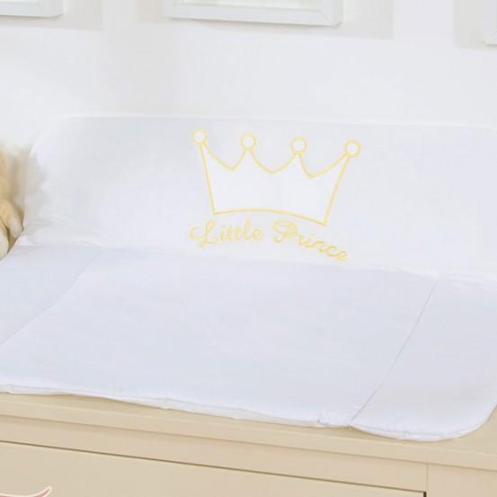 My Sweet Baby Aankleedkussen Little Prince Wit