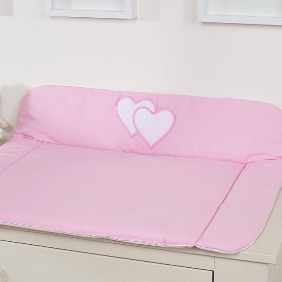 My Sweet Baby Aankleedkussen Two Hearts Roze