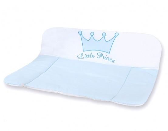 My Sweet Baby Aankleedkussen Little Prince Blauw