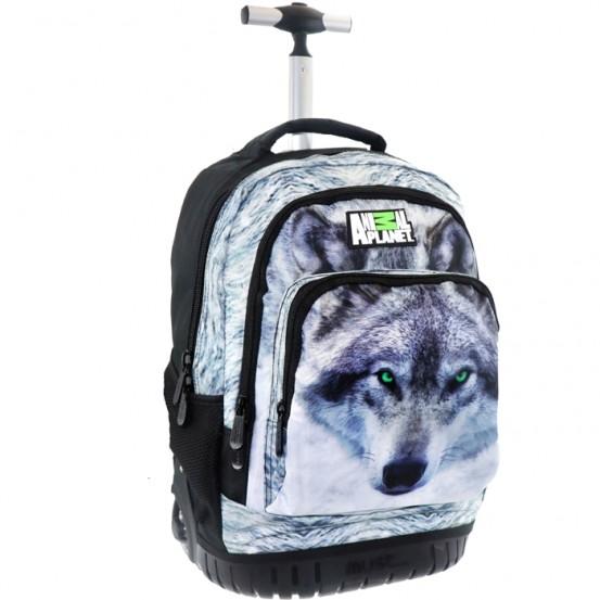 Animal Planet Trolley Wolf - Rugzak
