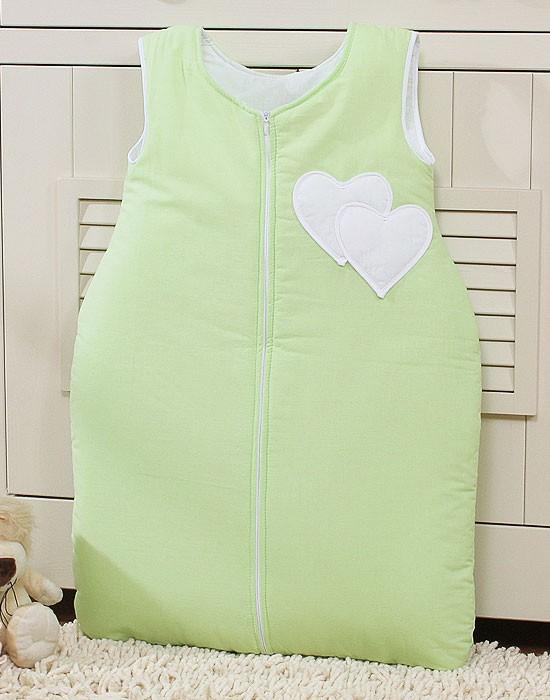 My Sweet Baby Slaapzak Two Hearts Groen