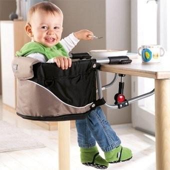 Baby Hangstoel Bruin/Zwart