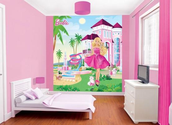 Barbie Fotobehang (Walltastic)