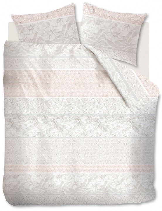 Beddinghouse dekbedovertrek Lacy Soft Pink