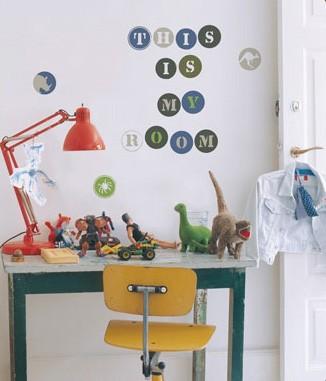 Kidslab Muursticker Alfabet