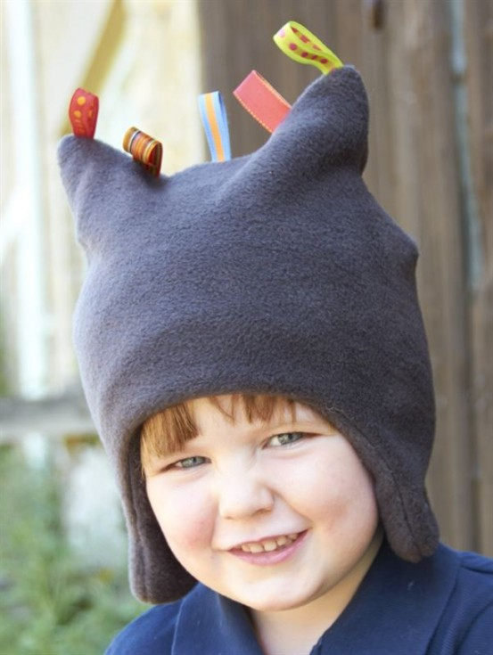 Buggy Snuggle Kindermuts Charcoal Toggles M