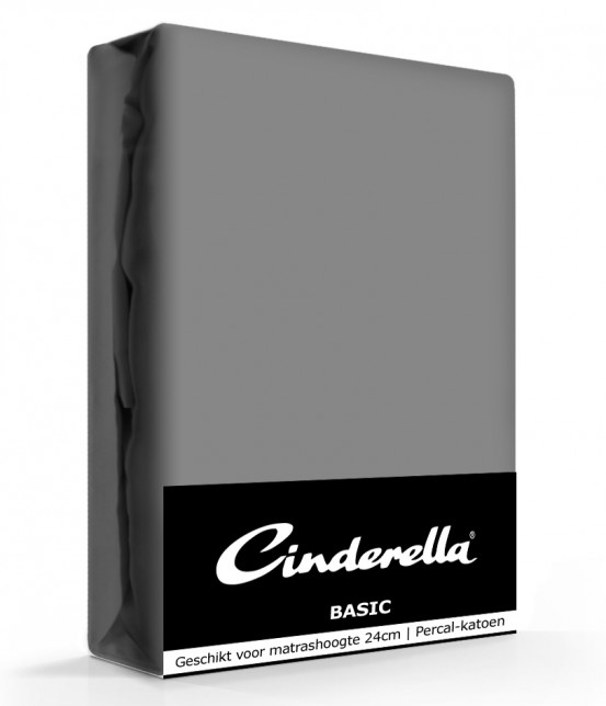 Cinderella Basic Hoeslaken Antraciet