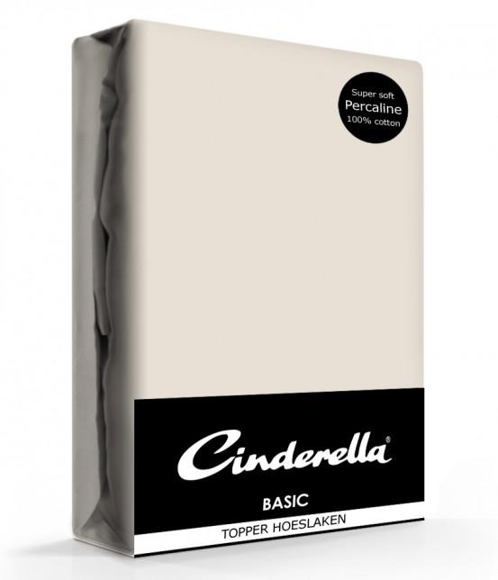 Cinderella Topper Hoeslaken Basic Percaline Taupe