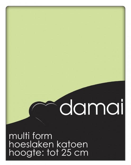 Hoeslaken Multiform Damai Lime (Katoen)