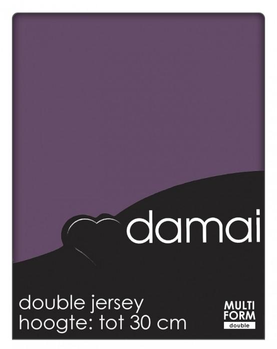 Damai Multiform Double Jersey Hoeslaken Purple