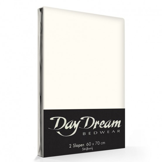 2 Stuks Kussenslopen Day Dream Ecru (katoen)