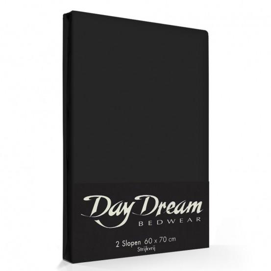 2 Stuks Kussenslopen Day Dream Zwart (katoen)