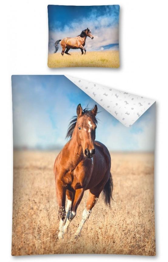 Dekbedovertrek Paard in de Wei