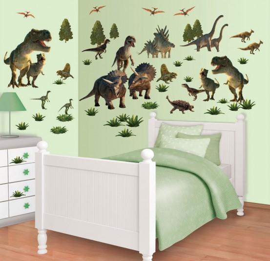 Dinosaur Land Muurstickers (Walltastic)