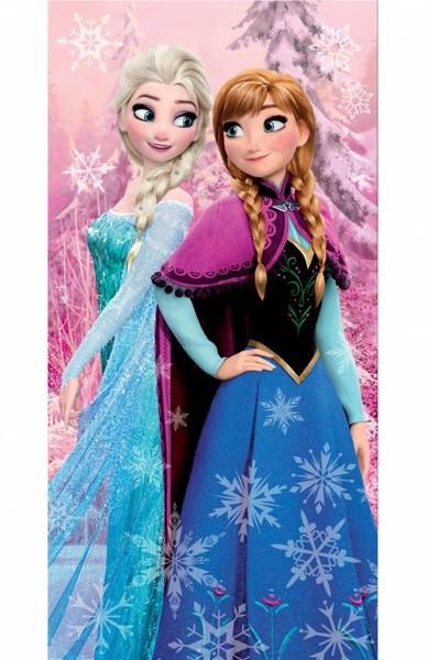 Disney Frozen Pink Strandlaken 70 x 140 cm