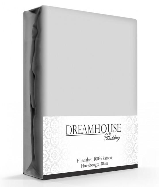 Dreamhouse Hoeslaken Katoen Grijs