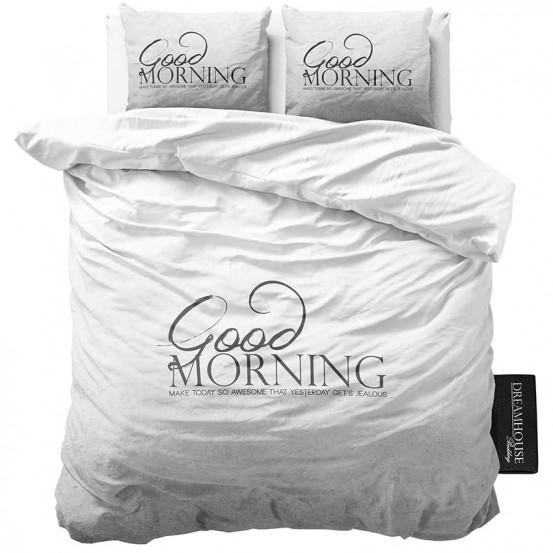 Dreamhouse Dekbedovertrek Soft Morning Antraciet