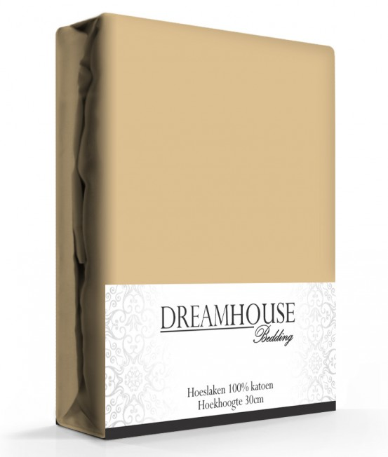 Dreamhouse Hoeslaken Katoen Taupe