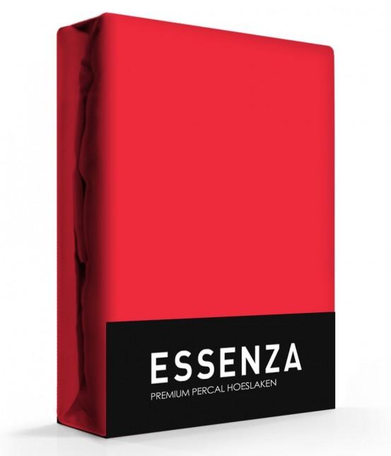 Essenza Hoeslaken Premium Percal Rood