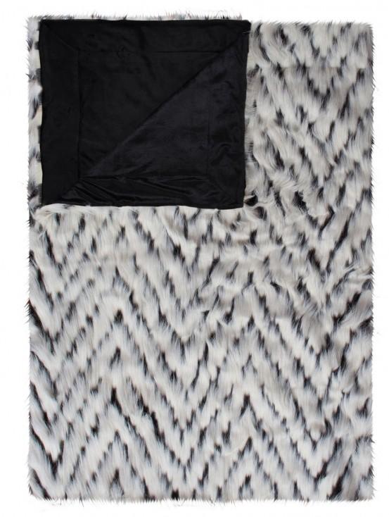 Essenza Plaid Fuzzy White 150x200cm