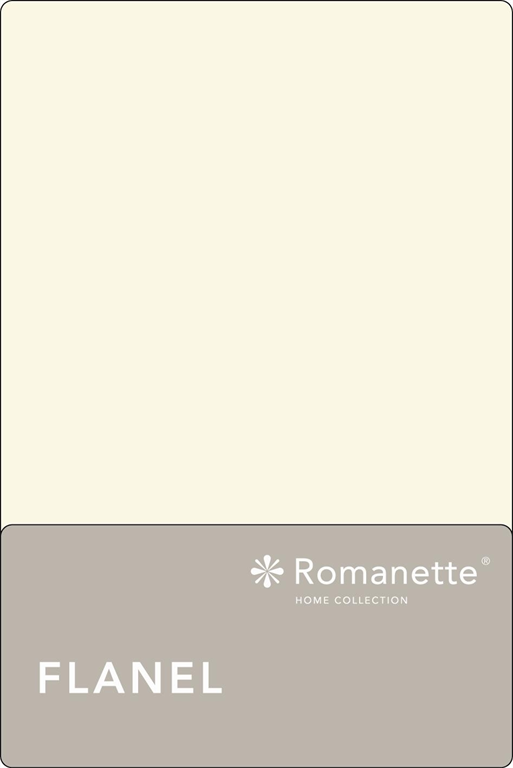 Flanellen Lakens Romanette Ecru