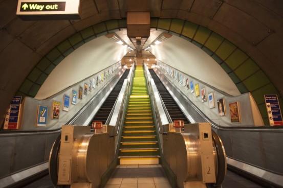 Subway Fotobehang (Wallpaper)