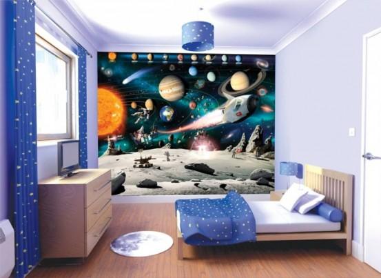 Universum Avontuur Fotobehang (Walltastic)