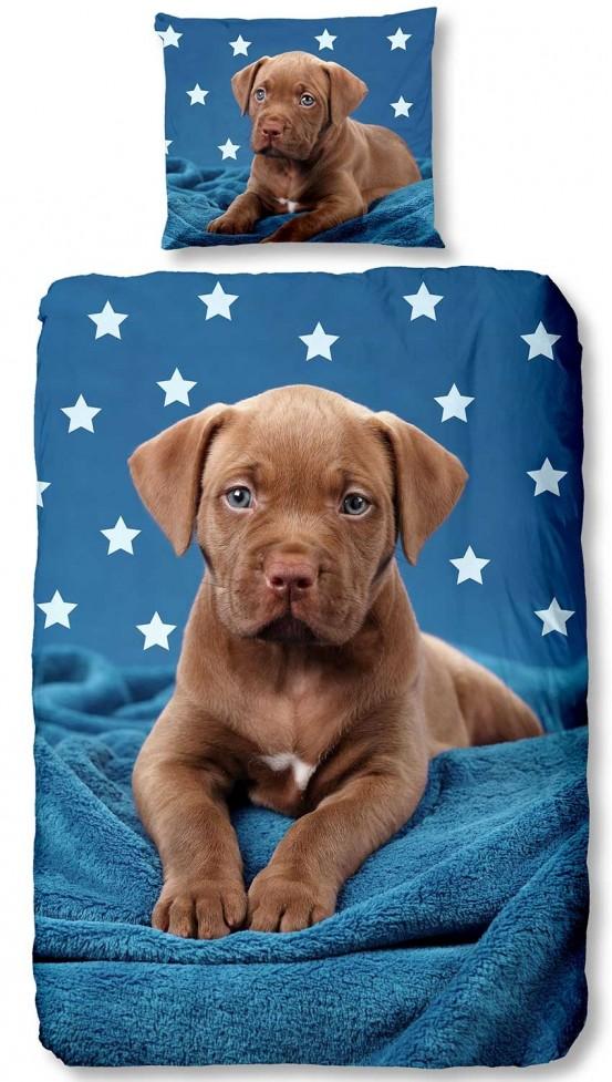Good Morning Kids Dekbedovertrek Pup