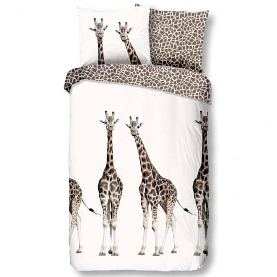 Goodmorning Dekbedovertrek Giraffe