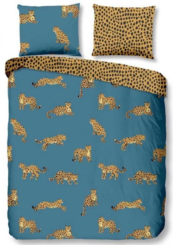 Goodmorning Dekbedovertrek Leopards Blue