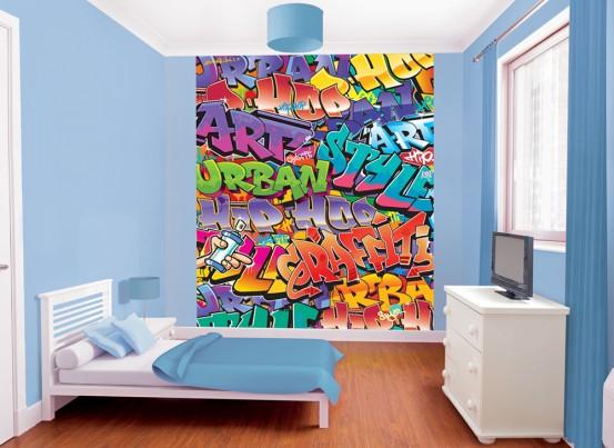 Graffiti Fotobehang (Walltastic)