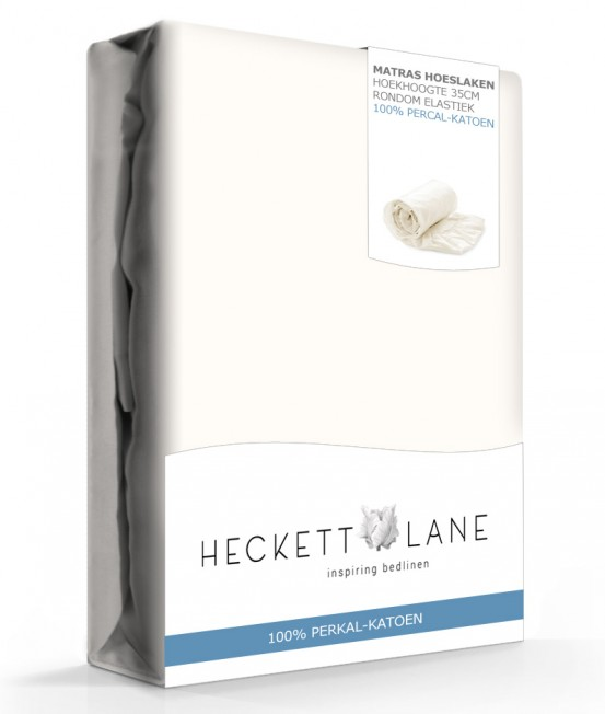 Heckett Lane Hoeslaken Percal Off White