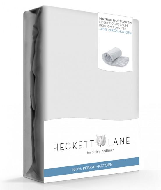 Heckett Lane Hoeslaken Percal Silver Grey