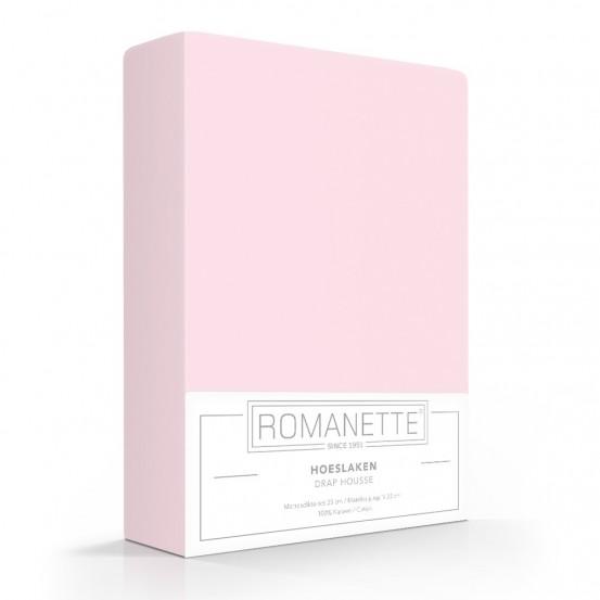 Romanette Hoeslaken Katoen Roze