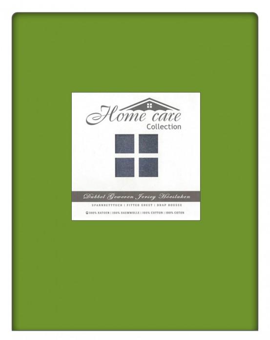Dubbel Geweven Hoeslaken Lime Home Care