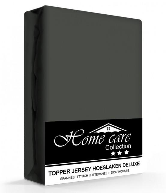 Homecare Jersey Topper Hoeslaken Antraciet