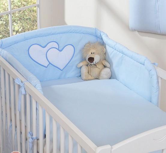 My Sweet Baby Hoofdbeschermer 'Two Hearts' Blauw