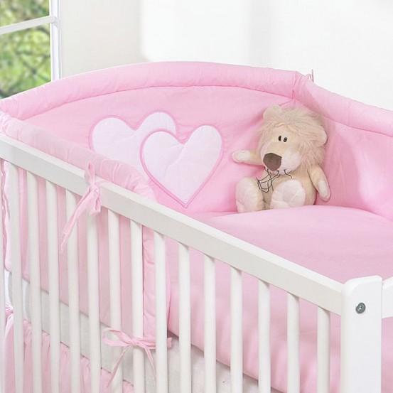 My Sweet Baby Hoofdbeschermer 'Two Hearts' Roze