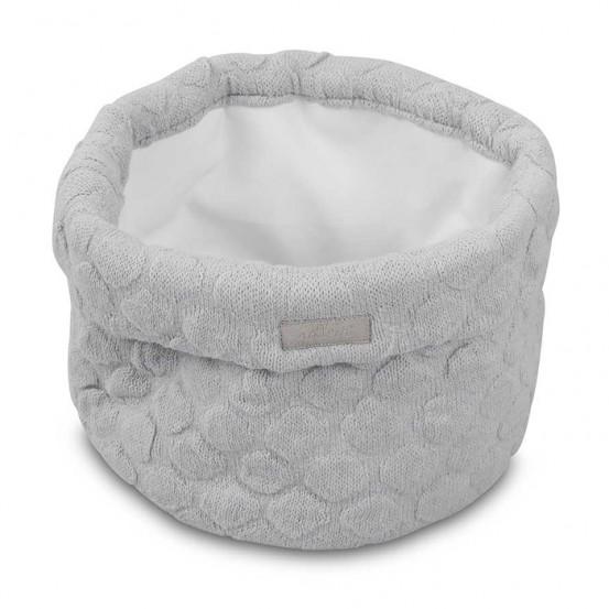 Jollein Mandje Fancy Knit Soft Grey